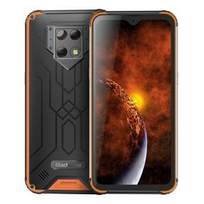 Blackview BV9800 Pro Rugged Phone, 6GB+128GB, Waterproof Dustproof Shockproof, Thermal Imaging, Face & Fingerprint Identification, 6.3 inch Android 9.0 Pie Helio P70 Octa Core up to 2.1GHz, NFC, Wireless Charge, Network: 4G(Orange)