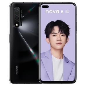 Huawei nova 6 5G WLZ-AN00, 8GB+128GB, China Version, Triple Back Cameras + Dual Front Cameras, 4200mAh Battery, Face ID & Fingerprint Identification, 6.57 inch EMUI 10.0.1 HUAWEI Kirin 990 + Balong 5000 Octa Core up to 2.86GHz, Network: 5G, OTG, NFC(Jet B