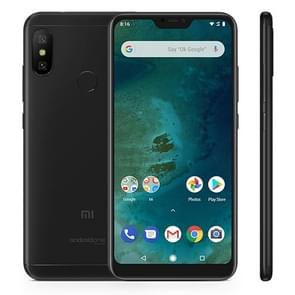 Xiaomi Mi A2 Lite, 3GB+32GB, Global Official Version, AI Dual Back Cameras, Fingerprint Identification, 4000mAh Battery, 5.84 inch Android One Qualcomm Snapdragon 625 Octa Core up to 2.0GHz, Network: 4G, Dual SIM(Black)