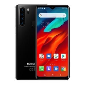 Blackview A80 Pro  4GB + 64GB  Quad Achteruitrijcamera's  Face ID & vingerafdruk identificatie  4680mAh batterij  6 49 inch water drop scherm Android 9 0 Pie MTK6757 Helio P25 OCTA core 64bit tot 2 6 GHz  netwerk: 4G  Dual SIM (zwart)