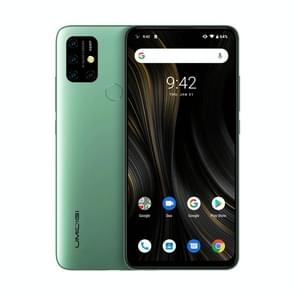 UMIDIGI Power 3, 4GB+64GB, Quad Back Cameras, 6150mAh Battery, Face ID & Fingerprint Identification, 6.53 inch Full Screen Android 10 MTK Helio P60 Octa Core up to 2.0GHz, Network: 4G, OTG, NFC, Dual SIM (Green)
