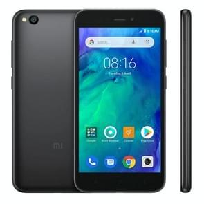 Xiaomi Redmi Go, 1GB+8GB, Global Official Version, 5.0 inch Android 8.1 Oreo Go Qualcomm Snapdragon  425 Quad Core up to 1.4GHz, Network: 4G, Dual SIM(Black)