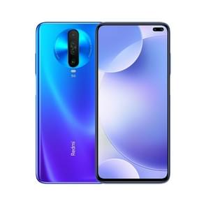 Xiaomi Redmi K30 5G, 64MP Camera, 6GB+ 64GB, Quad Back Cameras + Dual Front Cameras, 4500mAh Battery, Fingerprint Identification, 6.67 inch Dual-Pole Notch MIUI 11 Qualcomm Snapdragon 765G  5G Octa Core up to 2.4GHz, Network: 4G, Dual SIM, NFC, IR(Blue)