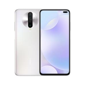 Xiaomi Redmi K30 5G, 64MP Camera, 6GB+64GB, Quad Back Cameras + Dual Front Cameras, 4500mAh Battery, Fingerprint Identification, 6.67 inch Dual-Pole Notch MIUI 11 Qualcomm Snapdragon 765G  5G Octa Core up to 2.4GHz, Network: 5G, Dual SIM, NFC, IR(White)