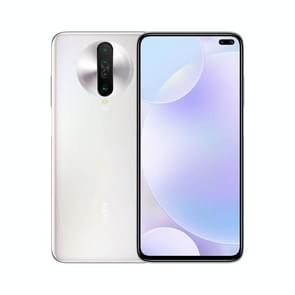 Xiaomi Redmi K30 5G, 64MP Camera, 8GB+ 128GB, Quad Back Cameras + Dual Front Cameras, 4500mAh Battery, Fingerprint Identification, 6.67 inch Dual-Pole Notch MIUI 11 Qualcomm Snapdragon 765G  5G Octa Core up to 2.4GHz, Network: 5G, Dual SIM, NFC, IR(White)