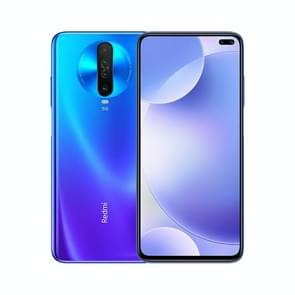 Xiaomi Redmi K30 5G, 64MP Camera, 8GB+256GB, Quad Back Cameras + Dual Front Cameras, 4500mAh Battery, Fingerprint Identification, 6.67 inch Dual-Pole Notch MIUI 11 Qualcomm Snapdragon 765G  5G Octa Core up to 2.4GHz, Network: 5G, Dual SIM, NFC, IR(Blue)