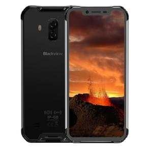 Blackview BV9600E  4GB+128GB  IP68/IP69K Waterproof Dustproof Shockproof  Dual Back Cameras  5580mAh Battery  Face ID & Side-mounted Fingerprint Identification  6.21 inch Android 8 Helio P70 (MTK6771T) Octa Core tot 2.1GHz  NFC  Wireless Charge  Network: