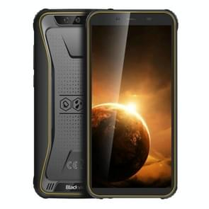 Blackview BV5500 Plus Rugged Phone  3GB+32GB  IP68 Waterproof Dustproof Shockproof  Dual Back Cameras  Face Unlock  4400mAh Battery  5.5 inch Android 10.0 MTK6739 Quad Core up to 1.5GHz  Network: 4G  NFC  OTG  Dual SIM(Yellow)