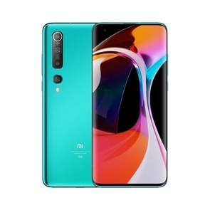 Xiaomi Mi 10 5G  100MP Camera  12GB+256GB  Face Identification  Quad Back Camera's  4780mAh Battery  6.67 inch MIUI 11 Qualcomm Snapdragon 865 Octa Core tot 2.84GHz  Network: 5G  Wireless Charge  NFC(Blue)