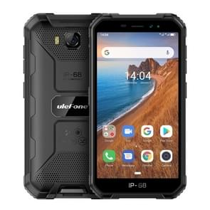 Ulefone Armor X6 Rugged Phone, 2GB+16GB, IP68/IP69K Waterproof Dustproof Shockproof, Face Identification, 4000mAh Battery, 5.0 inch Android 9.0 MTK6580A/W Quad Core up to 1.3GHz, Network: 3G(Black)