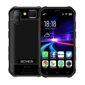 SOYES S10 3GB+32GB, Dual Back Camera, Face ID & Fingerprint Identification, 3.0 inch Android 6.0 MTK6737M Quad Core up to 1.3GHz, Dual SIM, Bluetooth, WiFi, GPS, NFC, Network: 4G, Support Google Play(Black)