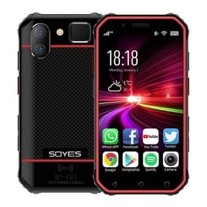 SOYES S10 3GB+32GB  Dual Back Camera  Face ID & Fingerprint Identification  3.0 inch Android 6.0 MTK6737M Quad Core up to 1.3GHz  Dual SIM  Bluetooth  WiFi  GPS  NFC  Network: 4G  Support Google Play(Black Red)