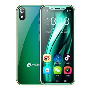 K-TOUCH I9, 3GB+32GB, Face ID Identification, 3.5 inch MTK6739  Quad Core 2.4Ghz, Network: 4G, Dual SIM,  Not Support Google Play (Green)