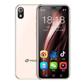K-TOUCH i9  3GB + 64GB  ondersteuning Google Play  Face ID identification  3 5 inch MTK6739 Quad Core 2.4 GHz  netwerk: 4G  Dual SIM (Rose Gold)