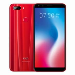 KXD K30, 3GB+32GB, Dual Back Cameras, Face & Fingerprint Identification, 5.7 inch Android 8.1 MTK6750 Octa Core up to 1.5GHz, Network: 4G, Dual SIM(Red)