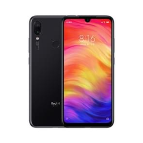 Xiaomi Redmi Note 7, 48MP Camera, 4GB+64GB, Global Official Version, Dual AI Back Cameras, 4000mAh Battery, Face ID & Fingerprint Identification, 6.3 inch Dot Notch Screen MIUI Qualcomm Snapdragon 660 Octa Core up to 2.2GHz, Network: 4G, Dual SIM(Jet Blac
