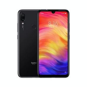 Xiaomi Redmi Note 7, 48MP Camera, 4GB+128GB, Global Official Version, Dual AI Back Cameras, 4000mAh Battery, Face ID & Fingerprint Identification, 6.3 inch Dot Notch Screen MIUI Qualcomm Snapdragon 660 Octa Core up to 2.2GHz, Network: 4G, Dual SIM (Jet Bl