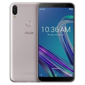 ASUS ZenFone Max Pro ZB602KL, 4GB+64GB, Global Official Version, Dual Back Cameras, Face ID & Fingerprint Identification, 5000mAh Battery, 6.0 inch Android 8.1 Oreo Qualcomm Snapdragon 636 64-bit Octa-core, Network: 4G(Silver Grey)