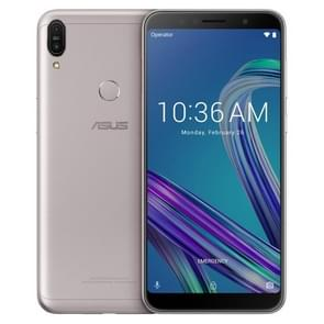 ASUS ZenFone Max Pro ZB602KL, 6GB+64GB, Global Official Version, Dual Back Cameras, Face ID & Fingerprint Identification, 5000mAh Battery, 6.0 inch Android 8.1 Oreo Qualcomm Snapdragon 636 64-bit Octa-core, Network: 4G(Silver Grey)