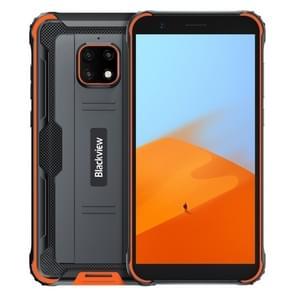 [HK-magazijn] Blackview BV4900 Rugged Phone  3GB+32GB  IP68 Waterproof Dustproof Shockproof  Face Unlock  5580mAh Battery  5.7 inch Android 10.0 MTK6761V/WE Quad Core tot 2.0GHz  Network: 4G  NFC  OTG  Dual SIM(Orange)