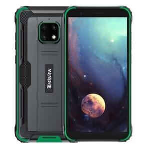 [HK-magazijn] Blackview BV4900 Rugged Phone  3GB+32GB  IP68 Waterproof Dustproof Shockproof  Face Unlock  5580mAh Battery  5.7 inch Android 10.0 MTK6761V/WE Quad Core tot 2.0GHz  Network: 4G  NFC  OTG  Dual SIM(Green)