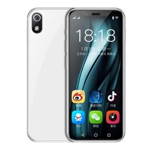 K-TOUCH I9s, 1GB+16GB, Face ID Identification, 3.46 inch Android 6.0 MTK6580 Quad Core, Network: 3G, Dual SIM, Support Google Play (White)