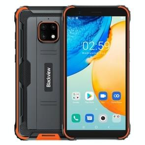 [HK-magazijn] Blackview BV4900 Pro Rugged Phone  4GB+64GB  Quad Back Camera's  Waterproof Dustproof Shockproof  5580mAh batterij  5 7 inch Android 10.0 MTK6762V/WD Helio P22 Octa Core tot 2 0 GHz  OTG  NFC Netwerk: 4G(Orange)