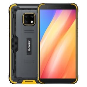 [HK-magazijn] Blackview BV4900 Pro Rugged Phone  4GB+64GB  Quad Back Camera's  Waterproof Dustproof Shockproof  5580mAh batterij  5 7 inch Android 10.0 MTK6762V/WD Helio P22 Octa Core tot 2 0 GHz  OTG  NFC Netwerk: 4G(Geel)