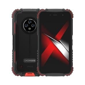 [HK-magazijn] DOOGEE S35 Pro Rugged Phone  4GB+32GB  IP68/IP69K Waterproof Dustproof Shockproof  MIL-STD-810G  4350mAh batterij  triple back camera's  gezichtsidentificatie  5.0 inch Android 10 MK6761V/WE A20 Quad Core tot 1 8 GHz  Netwerk: 4G  OTG(Red)
