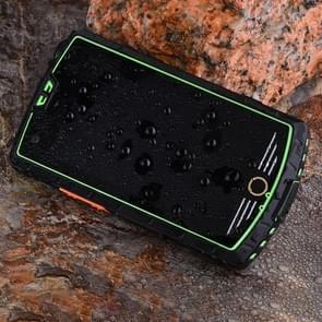 GUOPHONE U012 Rugged Phone  3GB+32GB  Walkie Talkie Function  IP68 Waterproof Dustproof Shockproof  5000mAh Batterij  4.0 inch Android 5.0 MTK6753 Octa Core tot 1 5 GHz  Netwerk: 4G  DMR / PTT  NFC  OTG(Groen)