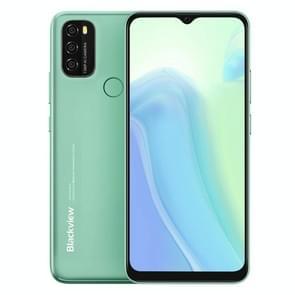 [HK-magazijn] Blackview A70  3GB+32B  Face ID & Fingerprint Identification  5380mAh Batterij  6.517 inch Android 11 Spreadtrum SC9863A Octa Core tot 1 6 GHz  Netwerk: 4G  Dual SIM (Groen)