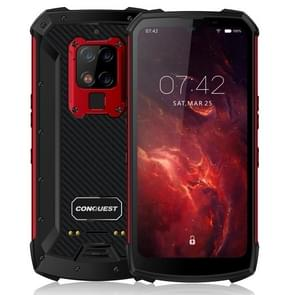 Conquest S16 Walkie Talkie Rugged Telefoon  8GB+128GB  Geen ondersteuning voor Google Play  48MP Triple Back Camera  6000mAh batterij  IP68 Waterdicht stofdicht schokbestendig  vingerafdrukidentificatie  6 3 inch Android 9.0 MTK6779VCE Helio P90 Octa Core