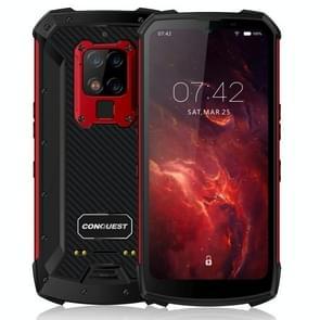 Conquest S16 Walkie Talkie Rugged Telefoon  8GB+256GB  Geen ondersteuning voor Google Play  48MP Triple Back Camera  6000mAh batterij  IP68 Waterdicht stofdicht schokbestendig  vingerafdrukidentificatie  6 3 inch Android 9.0 MTK6779VCE Helio P90 Octa Core