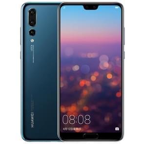 Huawei P20 Pro CLT-AL01, 6 GB + 64 GB, Triple back camera's, fingerprint identificatie, 6.1 duim volledige scherm EMUI 8.1 (Android 8.1) 970 Kirin Octa Core + Micro kernen i7, 4 x Cortex A73 2,36 GHz + 4 x Cortex A53 1.8 GHz, netwerk: 4G(Blue)
