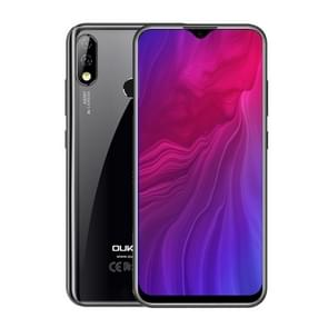 OUKITEL Y4800, 48MP Camera, 6GB+128GB, Dual AI Back Cameras, Fingerprint Identification, 4000mAh Battery, 6.3 inch Water-drop Screen Android 9.0 MTK Helio P70 Octa Core up to 2.0GHz, Network: 4G, Dual SIM, OTG (Black)