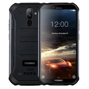 DOOGEE S40 Rugged Phone, 2GB+16GB, IP68/IP69K Waterproof Dustproof Shockproof, MIL-STD-810G, 4650mAh Battery, Dual Back Cameras, Face & Fingerprint Identification, 5.5 inch Android 9.0 Pie MTK6739 Quad Core up to 1.5GHz, Network: 4G, NFC(Black)