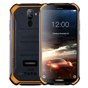 DOOGEE S40 Rugged Phone, 2GB+16GB, IP68/IP69K Waterproof Dustproof Shockproof, MIL-STD-810G, 4650mAh Battery, Dual Back Cameras, Face & Fingerprint Identification, 5.5 inch Android 9.0 Pie MTK6739 Quad Core up to 1.5GHz, Network: 4G, NFC(Orange)