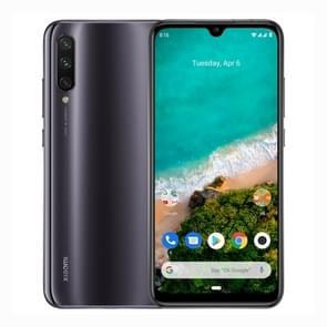 Xiaomi Mi A3, 4GB+64GB, Global Official Version, Screen Fingerprint Identification, 48MP Triple Rear Cameras, 4030mAh Battery, 6.088 inch Water-drop Screen Android One Qualcomm Snapdragon 665 Octa Core up to 2.0GHz, Network: 4G, Dual SIM (Black)