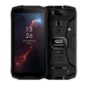 Conquest S12 Pro ruige telefoon, 6GB + 128GB, walkie talkie functie, 8000mAh batterij, IP68 waterdicht stofdicht schokbestendig, Face ID & vingerafdruk identificatie, 5,99 inch Android 9,0 Helio P70 OCTA core tot 2,5 GHz, netwerk: 4G, NFC, OTG, PTT, POC (