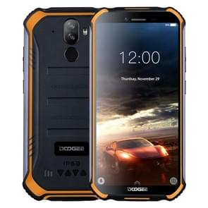 DOOGEE S40 Lite Rugged Phone, 2GB+16GB, IP68/IP69K Waterproof Dustproof Shockproof, MIL-STD-810G, 4650mAh Battery, Dual Back Cameras, Face & Fingerprint Identification, 5.5 inch Android 9.0 Pie MTK6580 Quad Core up to 1.3GHz, Network: 3G(Orange)