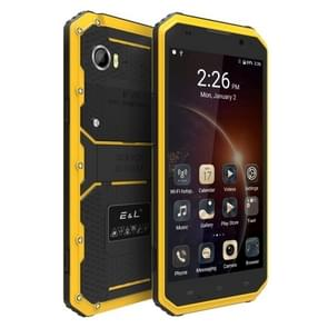 E&L Proofing W9, 2GB+16GB, IP68 Waterproof, Shockproof, Dustproof, 6.0 inch Android 5.1 MTK6753 Octa Core, Network: 4G(Yellow)