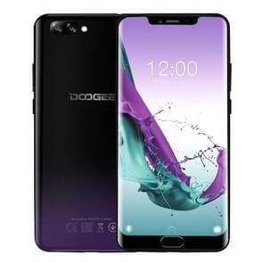 DOOGEE Y7 Plus, 6GB+64GB, Dual Back Cameras, Face ID & DTouch Fingerprint, 5080mAh Battery, 6.18 inch U-notch Android 8.1 MTK6757 Octa Core up to 2.5GHz, Network: 4G, OTG, OTA, Dual SIM (Phantom Purple)