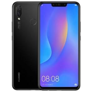 Huawei nova 3i, 4GB+128GB,China Version, Dual Back Cameras + Dual Front Cameras, Face & Fingerprint Identification, 6.3 inch Android 8.1 Kirin 710 Octa Core, 4 x Cortex A73 2.2GHz + 4 x Cortex A53 1.7GHz, Network: 4G, Dual SIM(Jet Black) Support Google Pl
