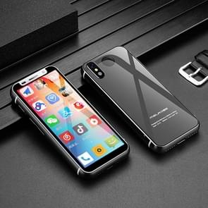 MELROSE 2019 with Fingerprint, 1GB+8GB, 3.46 inch, Android 8.1 MTK6739V/WA Quad Core up to 1.28GHz, Support Bluetooth / WiFi /GPS, Network: 4G, Support Google Play(Black)