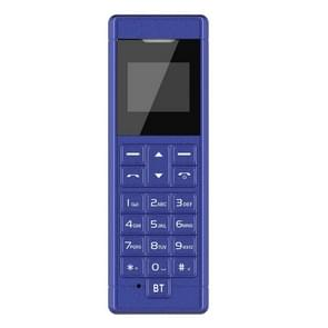 Forita A1 Card Mobile Phone, 0.66 inch, MTK6261D, 18 Keys, Support Bluetooth, FM, MP3, GSM (Blue)