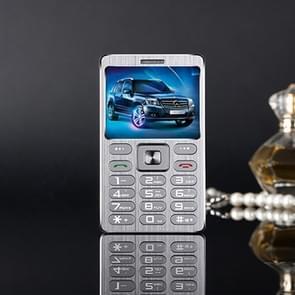 SATREND A10 kaart mobiele telefoon  1 77 inch  MTK6261D 21 sleutels  steun Bluetooth  MP3  anti-verloren  Remote vangen  FM  GSM  dubbele SIM(Silver)