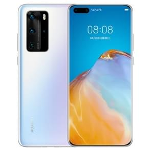 Huawei P40 Pro ELS-AN00  50MP Camera  8GB+256GB  China Version  Quad Back Cameras  Face ID & Screen Fingerprint Identification  6.58 inch Dot-notch Screen EMUI 10.1 Android 10.0 HUAWEI Kirin 990 5G Octa Core tot 2 86GHz  Network: 5G  NFC  OTG(White)