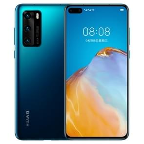 Huawei P40 ANA-AN00  50MP Camera  8GB+256GB  China Version  Triple Back Cameras  Face ID & Screen Fingerprint Identification  6.1 inch Dot-notch Screen EMUI 10.1 Android 10.0 HUAWEI Kirin 990 5G Octa Core tot 2 86GHz  Network: 5G  NFC  OTG(Blue)