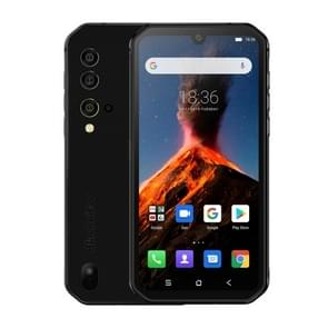 Blackview BV9900  8GB+256GB  IP68/IP69K Waterproof Dustproof Shockproof  Triple Rear Cameras  4380mAh Battery  Side-mounted Fingerprint Identification  5.84 inch Android 9 Pie MT6779V Octa Core up to 2.1GHz  NFC  Wireless Charge  Network: 4G(Black)