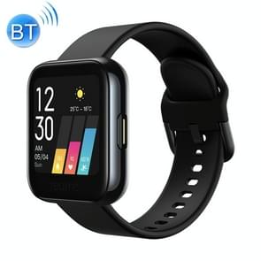 [HK-magazijn] Realme Watch 1 1 4 inch Color Touch Screen IP68 Waterproof Smart Watch  Support Real-time Heart Rate Monitor & Intelligent Tracker & Blood-oxygen Level Monitor & 14 Sports Modes(Black)